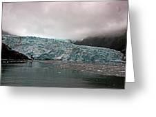 Main Glacier Greeting Card