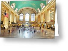 Main Hall Grand Central Terminal, New York Greeting Card