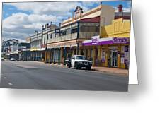Collie Tidt Town  Greeting Card
