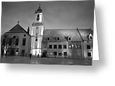 Main Square Greeting Card