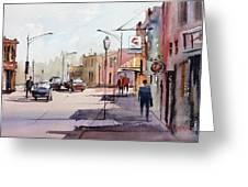 Main Street - Wautoma Greeting Card
