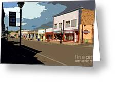 Main Street Greeting Card