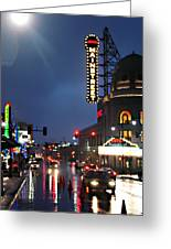 Main Street Kansas City Greeting Card