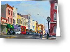 Main Street Nayck  Ny  Greeting Card