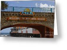 Main Street Pier And Boardwalk Greeting Card by David Lee Thompson