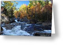 maine 38 Baxter State Park South Branch Stream Greeting Card