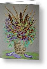 Maine Bouquet Greeting Card by Collette Hurst