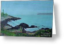 Maine Coast 1 Greeting Card