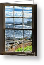 Maine Coast Picture Frame Greeting Card
