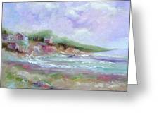 Maine Coastline Greeting Card