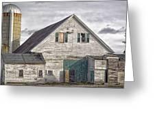 Maine Farm Barn Greeting Card