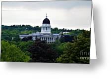 Maine State House Greeting Card