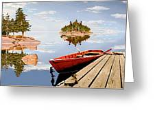 Maine-tage Greeting Card