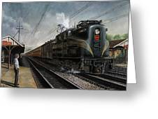 Mainline Memories Greeting Card