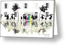 Maison De La Tarte Greeting Card