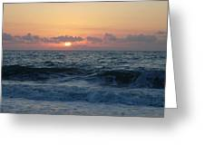Majestic Atlantic Sunrise Greeting Card