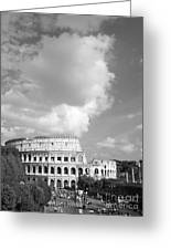 Majestic Colosseum Greeting Card