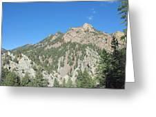 Majestic Eldorado Mountain Greeting Card