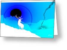 Majestic Elk Warmridge Greeting Card