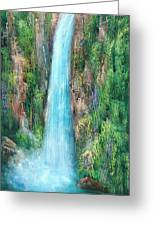 Majestic Falls Greeting Card