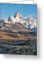 Majestic Fitz Roy Greeting Card