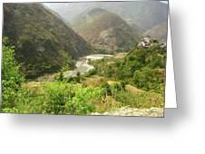 Majestic Himalayas Greeting Card