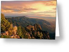 Majestic Mountain View Greeting Card