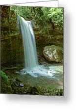 Majestic Pennsylvania Falls Greeting Card