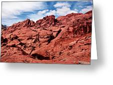 Majestic Red Rocks Greeting Card
