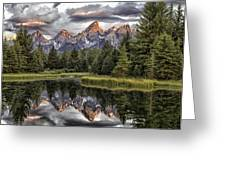 Majestic Reflection Greeting Card