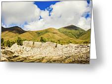 Majestic Rugged Australia Landscape  Greeting Card