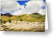 Majestic Rugged Australia Landscape  Greeting Card
