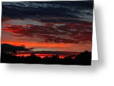 Majestic Sunset 3 Greeting Card