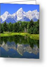 Majestic Tetons Greeting Card