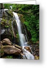 Majestic Waterfall Greeting Card