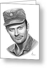 Major Frank Burns Greeting Card