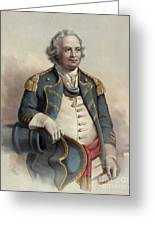 Major General Israel Putnam Greeting Card