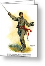 Major General Patrick R. Cleburne Greeting Card