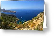 Majorca Spain Panorama Greeting Card