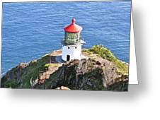 Makapuu Lighthouse 1065 Greeting Card by Michael Peychich