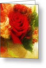 Make Mine Roses Please Too Greeting Card