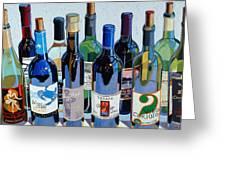 Make Mine Virginia Wine Number Three Greeting Card