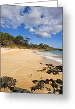 Makena Beach Greeting Card