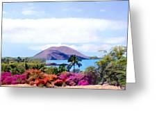Makena Maui Greeting Card