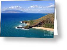 Makena, Maui Greeting Card