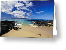 Makena, Secret Beach Greeting Card