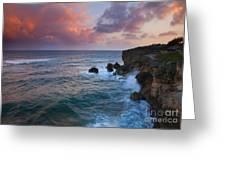 Makewehi Sunset Greeting Card