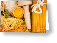 Making Pasta Greeting Card