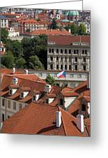 Mala Strana Greeting Card