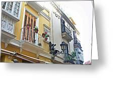 Malaga-2010-20 Greeting Card